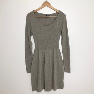 H&M Soft Taupe Sweater Dress